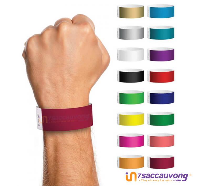 Quy ước màu sắc vòng tay y tế tại các bệnh viện, cơ sở y tế.