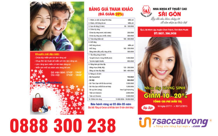In leaflet bệnh viện - In nhanh 7 Sắc Cầu Vồng.