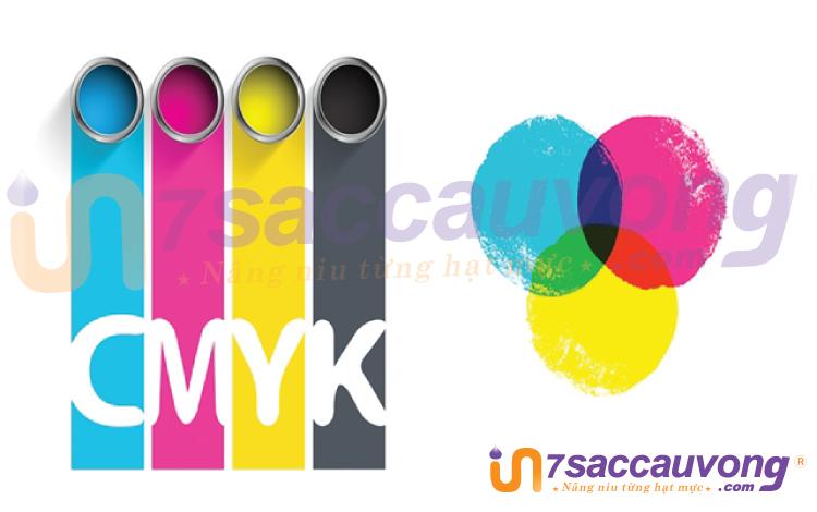 Phân biệt CMYK với RGB