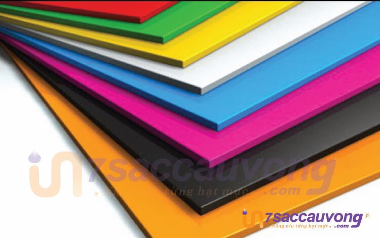 Hình nhựa nhiệt dẻo PVC